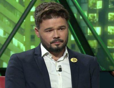 La pullita de Gabriel Rufián a Pablo Iglesias en 'laSexta noche'