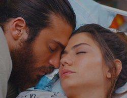 """Sanem y Can acortan las distancias en 'Erkenci Kus': """"Puedes quedarte aquí y dormir conmigo"""""""
