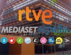 La CNMC inicia un expediente sancionador contra TVE y Mediaset por incumplir la normativa publicitaria