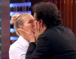 'MasterChef Celebrity 4': El beso de Pepe Rodríguez y Patricia Montero para dar celos a Àlex Adrover