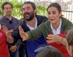 """La bronca entre El Sevilla y Vicky Martín Berrocal en 'MasterChef Celebrity 4': """"Juega sucio, es mala persona"""""""