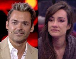 """La emotiva despedida de Hugo Castejón y Adara en 'GH VIP 7': """"Te veo como la ganadora del concurso"""""""