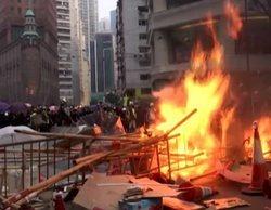"""""""Están disparando en este momento"""": Mavi Doñate (TVE) vive la peor jornada de disturbios en Hong Kong"""