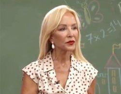"""Las perlas de Carmen Lomana a los niños de Telemadrid: """"Le dije a Pablo Iglesias que usase desodorante"""""""