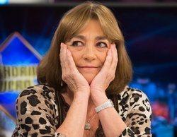 """Carmen Maura, al quedarse sola en 'El hormiguero': """"Me están entrando ganas de llorar"""""""