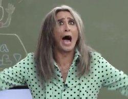 """Mario Vaquerizo indigna al corear """"¡me da igual el feminismo!"""" con los niños de Telemadrid"""