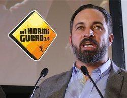 """Aluvión de críticas a 'El hormiguero' por invitar a Santiago Abascal: """"Dando voz al fascismo"""""""