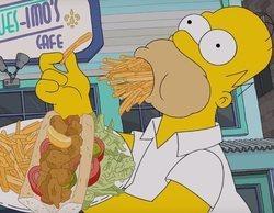 'Los Simpson' dominan la sobremesa y logran también ser lo más visto del día