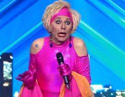 'Got Talent España': Xayo, drag queen desde la época del franquismo, se lleva el Pase de Oro de Paz y Dani
