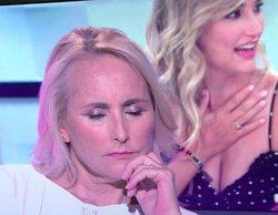 "La siesta de Lucía Pariente en pleno directo de 'Sálvame': ""Se duerme porque sois un rollo"""