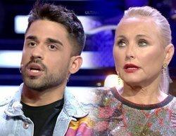 """Lucía Pariente abandona el plató de 'GH VIP 7' tras un rifirrafe con Miguel Frigenti: """"Vamos a poner candados"""""""