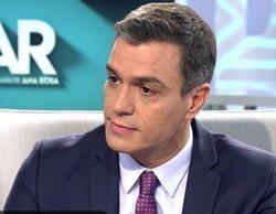 """Pedro Sánchez, en 'El programa de Ana Rosa': """"No tengo ningún problema en compartir el poder"""""""