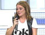 Toñi Moreno abandona llorando 'MYHYV' tras creer que María Teresa Campos ha muerto