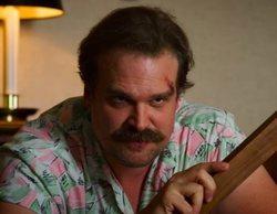David Harbour llama en directo a los creadores de 'Stranger Things' para saber qué ha pasado con Hopper