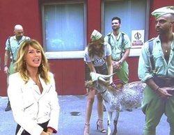 Críticas a 'Viva la vida' por celebrar el Día de la Hispanidad con disfraces de la legión y una cabra en plató