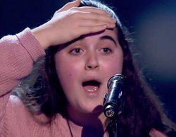 'La Voz Kids': David Bisbal se gira en el último segundo y emociona a Lucía Souto
