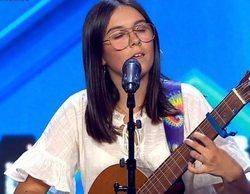 'Got Talent España': Chiara, su voz y su guitarra se llevan el Pase de Oro en parejas de Risto y Edurne