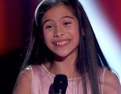 Melani García regresa a 'La Voz Kids' e interpreta el tema con el que se alzó ganadora de la última edición