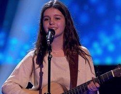 'La Voz Kids': Melendi y Vanesa Martín premian la creatividad de Lucie Labays a la guitarra