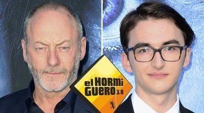 Isaac Hempstead-Wright y Liam Cunningham ('Juego de Tronos'), invitados de 'El hormiguero' el 23 de octubre