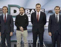 TVE emitirá un debate electoral con PSOE, PP, Ciudadanos, Unidas Podemos y VOX el 4 de noviembre