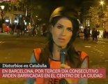 Gran interés por las protestas en Barcelona llevando a 'La noche en 24h' (4,1%) a lo más alto