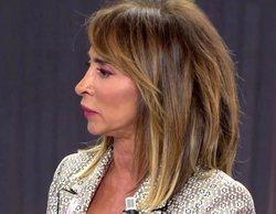 """La peor noche de María Patiño en 'Sábado deluxe': """"Estoy incapacitada para hacer mi trabajo"""""""