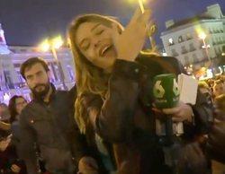 """La agresión a una reportera de laSexta en la manifestación de Madrid: """"Me han escupido a la cara"""""""