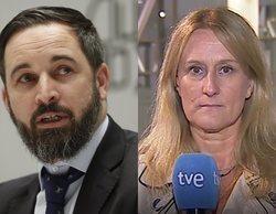 """Santiago Abascal tacha a TVE de estar al servicio de """"proetarras"""" y la Corporación da la cara"""