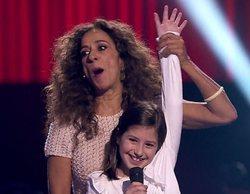 'La Voz Kids': Rosario Flores pone el broche de oro a su equipo con la dulce voz de Claudia Martínez