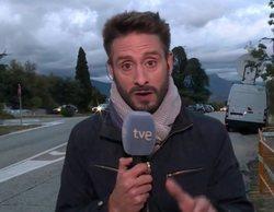 """El lapsus de un reportero de TVE: """"Franco descansará junto a su mujer, Carmen Calvo"""""""