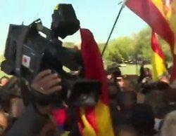 Agreden a una periodista de Antena 3 en la concentración franquista de Mingorrubio