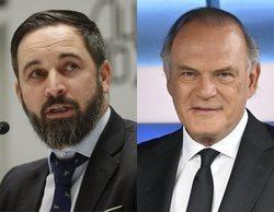 """Santiago Abascal rechaza ir a 'Informativos Telecinco' y critica a Pedro Piqueras: """"Es un burdo manipulador"""""""