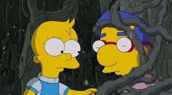 Primeras imágenes del especial de Halloween de 'Los Simpson' parodiando 'Stranger Things'