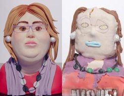 Estas son las desastrosas tartas del busto de Paquita Salas que han hecho los concursantes de 'Niquelao!'