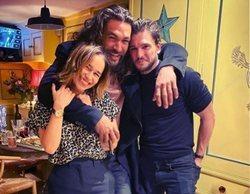 El esperado reencuentro de Emilia Clarke, Jason Momoa y Kit Harington tras el final de 'Juego de Tronos'