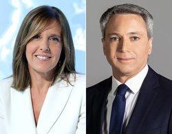 Vicente Vallés y Ana Blanco, moderadores del debate electoral del 4 de noviembre que emitirá RTVE y Atresmedia