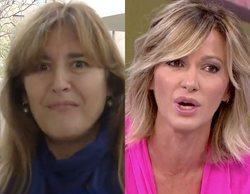 """Susanna Griso y Laura Borràs se enzarzan a cuenta de su apellido: """"Me llamo Griso, no 'Grisu'"""""""