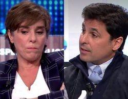 """Encontronazo entre Anabel Alonso y Fran Rivera por la polémica del vídeo sexual: """"Tú te metiste en el grupo"""""""