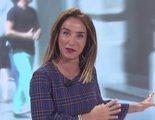 María Patiño interrumpe el directo de 'Socialité' con un grito al oír un ruido a su espalda