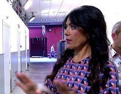 Maite Galdeano se estrena como presentadora de 'Sálvame' y provoca la marcha de plató de Kiko Matamoros