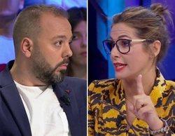 """Nuria Roca y Antonio Maestre se enzarzan por la entrevista a Abascal en 'El hormiguero': """"No te equivoques"""""""