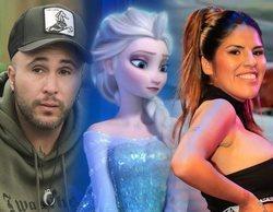 """Kiko Rivera y su cruel felicitación a Isa P por su cumpleaños mientras ella """"mata"""" a Elsa de """"Frozen"""""""