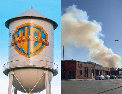 Un incendio en Los Ángeles obliga a Warner Bros. a desalojar sus estudios