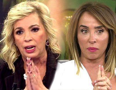 """La pulla de Carmen Borrego a María Patiño: """"Para hablar de honestidad, hay estar limpio"""""""