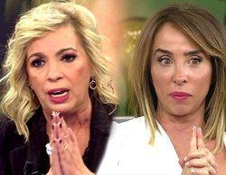"""Carmen Borrego, harta de los ataques de María Patiño: """"Para hablar de honestidad, hay que tener todo limpito"""""""