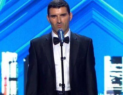 Risto da su Pase de Oro más surrealista a David y su mediocre actuación en 'Got Talent'