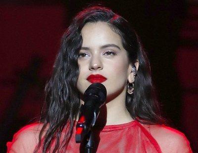 """Rosalía enciende a la extrema derecha tras el 10-N: """"Fuck Vox"""""""