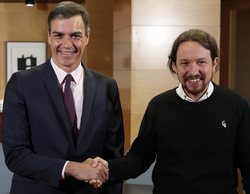 Pedro Sánchez y Pablo Iglesias llegan a un preacuerdo de gobierno en coalición PSOE-Podemos
