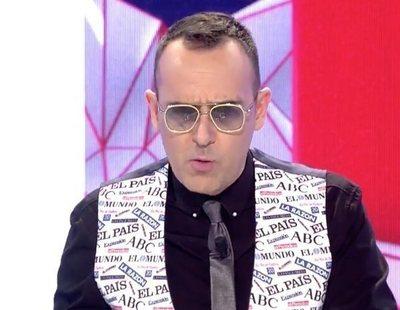 """Risto Mejide, muy crítico con Pedro Sánchez y Pablo Iglesias: """"Cinismo histórico"""""""